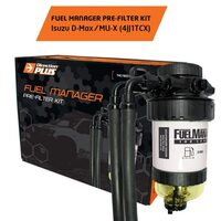 Isuzu DMAX/MUX Fuel Manager Pre-Filter Kit - Single Battery
