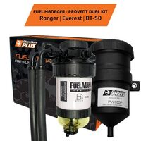 Ford Ranger PX/Everest and Mazda BT50 2.2/3.2L Fuel Manager Pre-Filter And Provent Multi-Kit