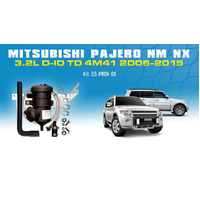 Mitsubishi Pajero NM/NX 3.2L Provent Oil Catch Can Vehicle Specific Kit - OS-PROV-08