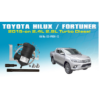 Toyota Hilux/Fortuner N80 Provent Oil Catch Can Vehicle Specific Kit - OS-PROV-12