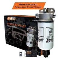 Toyota Landcruiser 70 1VD 2018-On Driver Side Mount PreLine-Plus Fuel Filter Kit