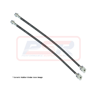 "Nissan Navara D40 Rear Rubber Extended Brake Hoses (6""/Long Tavel) - DUAL HOSE"