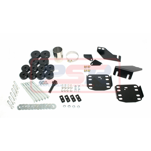 "Toyota Hilux N80 16-on 1"" Body Lift Kit (Dual Cab with Tray)"