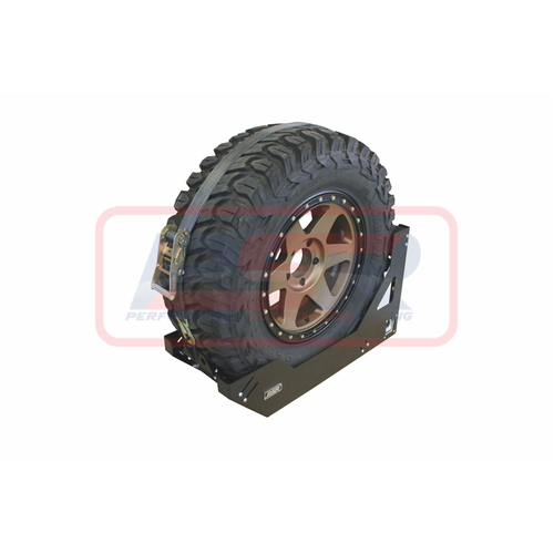"Universal Vertical Spare Tyre Mount (Suits 28-32"" Tyre)"